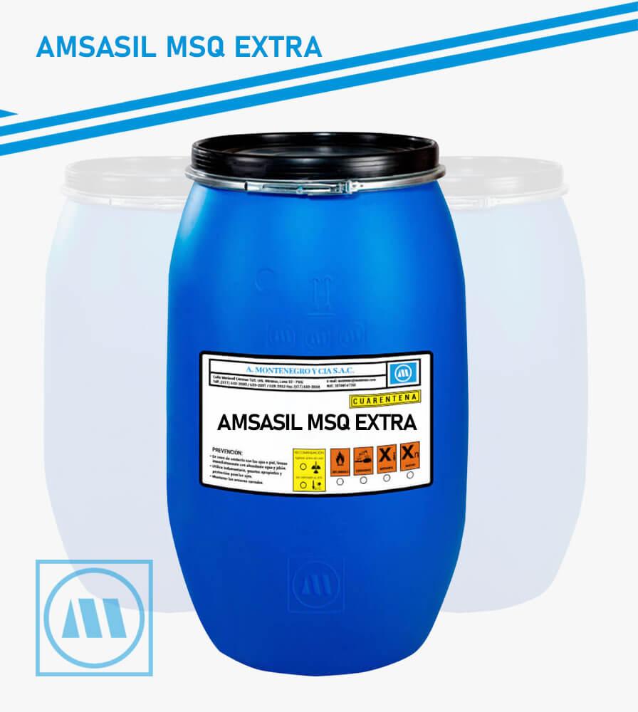 A. MONTENEGRO Y CIA - ACABADO - AMSASIL MSQ EXTRA