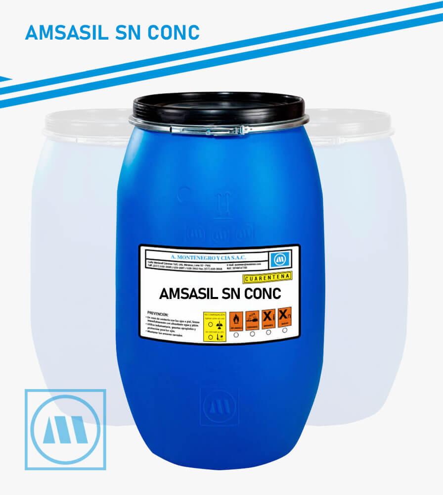 A. MONTENEGRO Y CIA - ACABADO - AMSASIL SN CONC