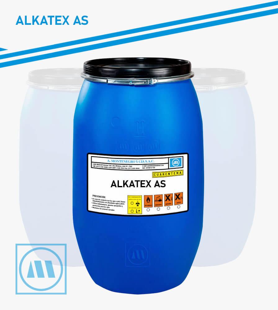 A. MONTENEGRO Y CIA - PRETRATAMIENTO - ALKATEX AS