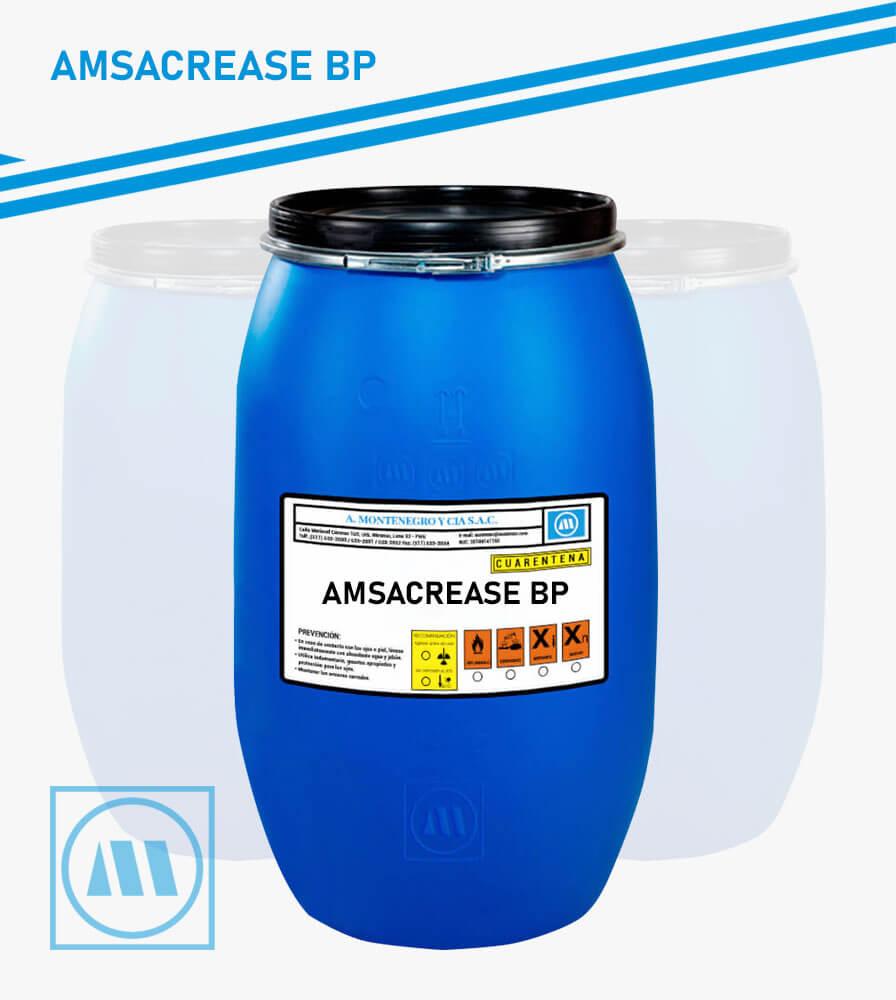 A. MONTENEGRO Y CIA - PRETRATAMIENTO - AMSACREASE BP